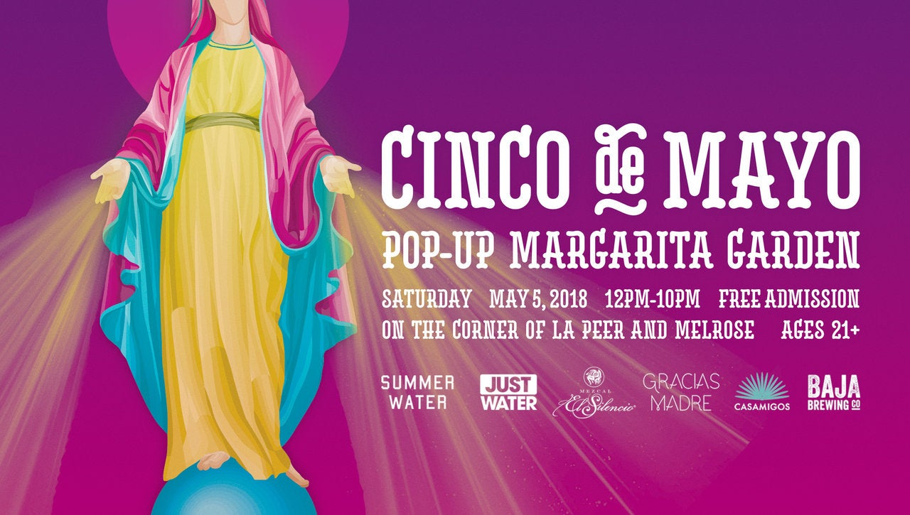 Pop-Up Margarita Garden Party at Gracias Madre