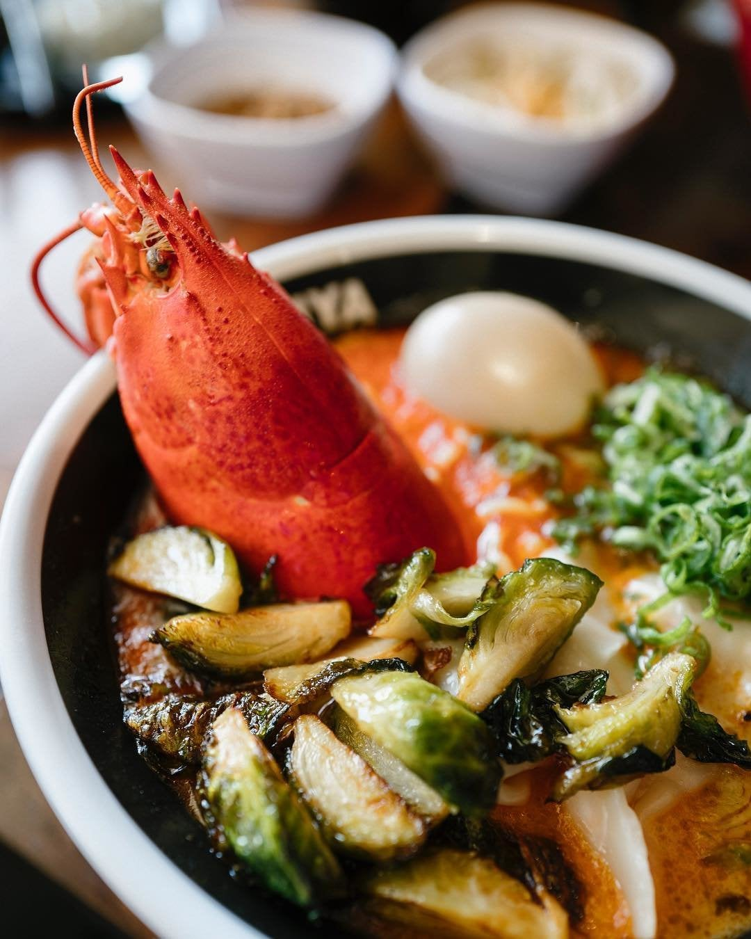 Lobster Ramen at JINYA Ramen Bar in Studio City