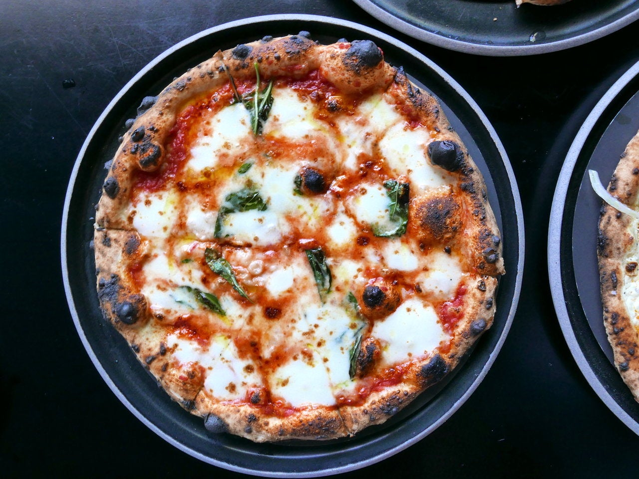 Margherita Pizza at Pizzana