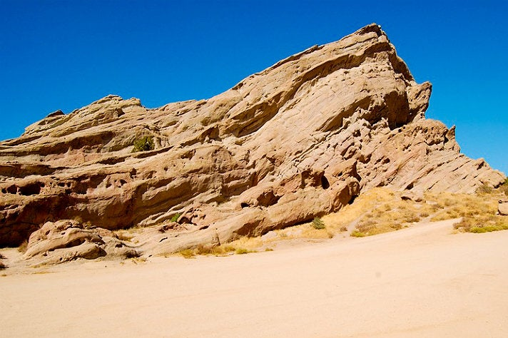 "Vasquez Rocks from ""Star Trek"""